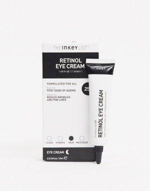 Крем для кожи вокруг глаз с ретинолом INKEY List-Бесцветный THE LIST