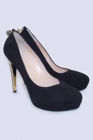 Туфли DEL GATTO. Цвет: черный