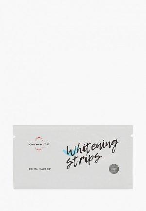 Полоски для зубов отбеливающие On White Strips Kit, чувствительных зубов, 10 саше. Цвет: прозрачный