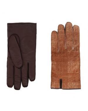 Перчатки VALENTINO GARAVANI. Цвет: бежевый