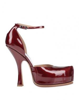 Туфли MAISON MARGIELA. Цвет: красный