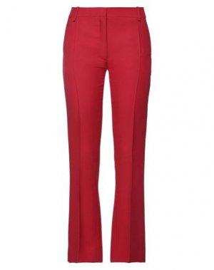 Повседневные брюки VALENTINO. Цвет: красный