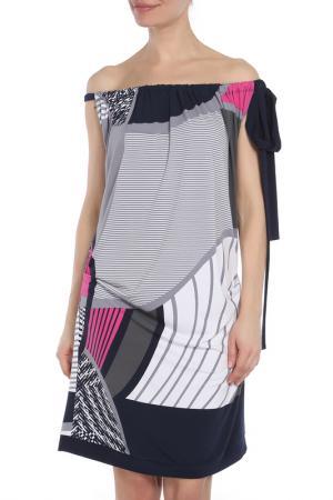 Платье Joseph Ribkoff. Цвет: мультицвет