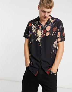 Рубашка с цветочным принтом по всему изделию -Мульти Criminal Damage
