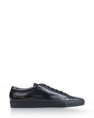 Низкие кеды и кроссовки COMMON PROJECTS. Цвет: черный