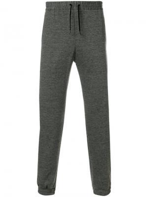 Классические спортивные брюки Calvin Klein. Цвет: серый