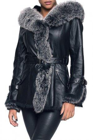 Куртка John & Yoko. Цвет: черный