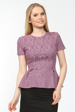 Блуза Arrangee. Цвет: сиреневый