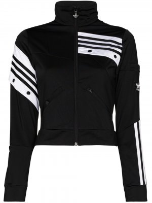 Спортивная куртка из коллаборации с Daniëlle Cathari adidas. Цвет: черный
