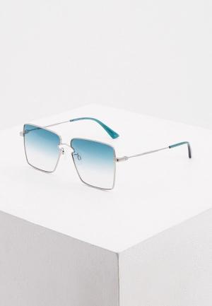 Очки солнцезащитные McQ Alexander McQueen MQ0268S 004. Цвет: серебряный