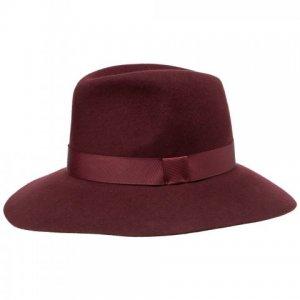 Шляпа Fabi. Цвет: бордовый