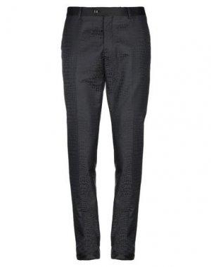 Повседневные брюки BILLIONAIRE. Цвет: черный
