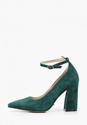 Туфли Calipso. Цвет: зеленый