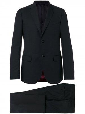 Классический костюм-двойка Gucci. Цвет: черный