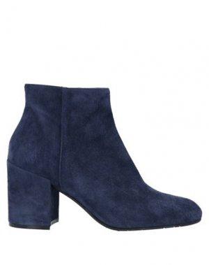 Полусапоги и высокие ботинки J|D JULIE DEE. Цвет: грифельно-синий