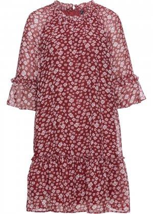 Платье bonprix. Цвет: красный