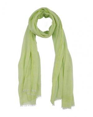 Палантин EVITA. Цвет: кислотно-зеленый