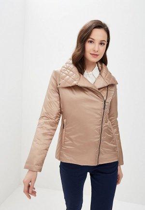 Куртка утепленная Camomilla Italia. Цвет: бежевый