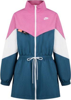 Ветровка женская Sportswear, размер 48-50 Nike. Цвет: розовый
