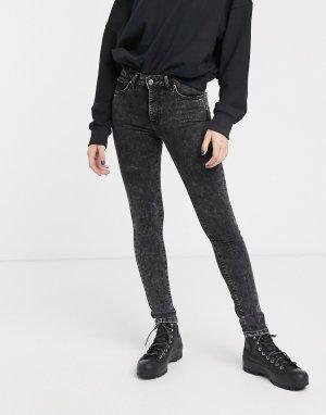 Черные джинсы -Голубой Dr Denim