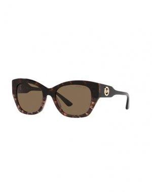 Солнечные очки MICHAEL KORS. Цвет: темно-коричневый