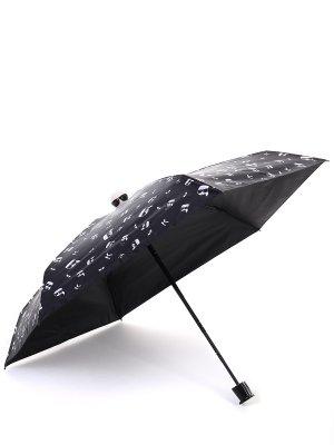 Складной зонт с принтом Ikonik KARL LAGERFELD