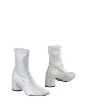Полусапоги и высокие ботинки GEORGE J. LOVE. Цвет: серебристый