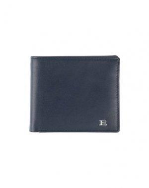 Бумажник ERMANNO DI SCERVINO. Цвет: темно-синий