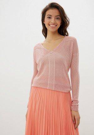 Пуловер Happychoice. Цвет: розовый