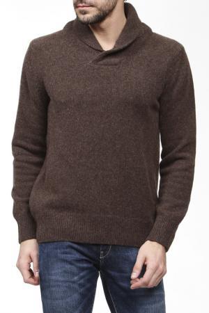 Пуловер FREESOUL. Цвет: коричневый