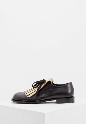 Ботинки Marni. Цвет: черный