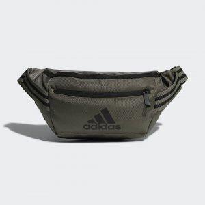 Сумка на пояс Classic Performance adidas. Цвет: зеленый