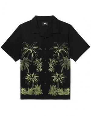 Pубашка STUSSY. Цвет: черный