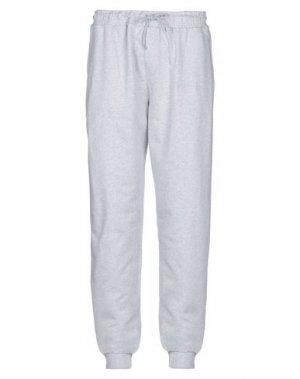 Повседневные брюки DEDICATED.. Цвет: светло-серый