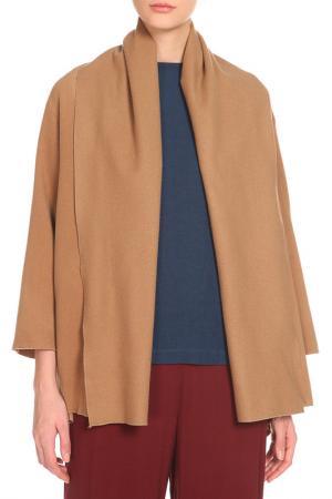 Пальто Cyrille Gassiline. Цвет: cветло-коричневый
