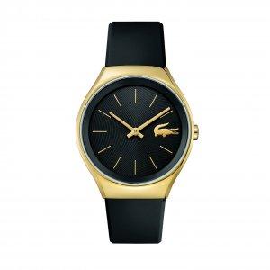 Часы VALENCIA Lacoste. Цвет: черный