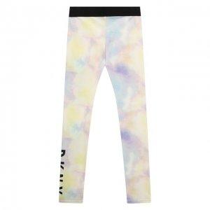 Леггинсы DKNY. Цвет: разноцветный
