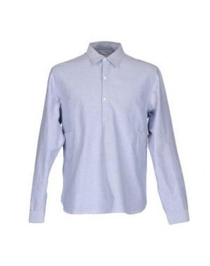 Pубашка GARBSTORE. Цвет: лазурный