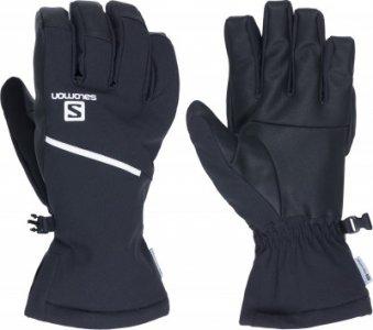 Перчатки мужские Propeller One, размер 9,5 Salomon. Цвет: черный