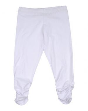 Легинсы J BE. Цвет: белый