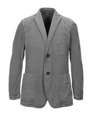 Пиджак ISSEY MIYAKE MEN. Цвет: серый