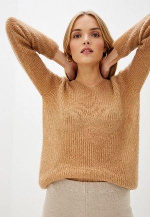 Пуловер Max Mara Leisure. Цвет: бежевый