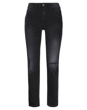 Джинсовые брюки DRYKORN. Цвет: черный