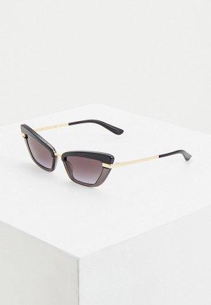 Очки солнцезащитные Dolce&Gabbana DG4378 32468G. Цвет: черный