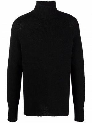 Maryya knitted virgin wool-blend jumper Ma'ry'ya. Цвет: черный