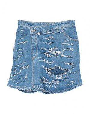 Джинсовая юбка OTTOLINGER. Цвет: синий