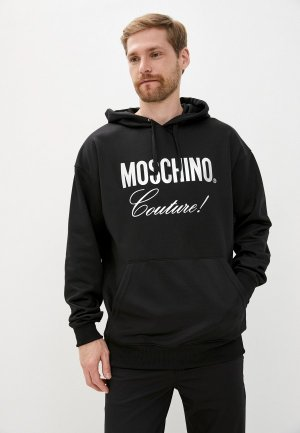 Худи Moschino Couture. Цвет: черный