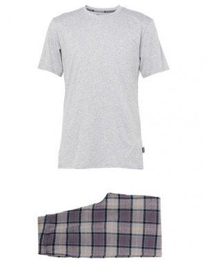 Пижама BARBOUR. Цвет: светло-серый