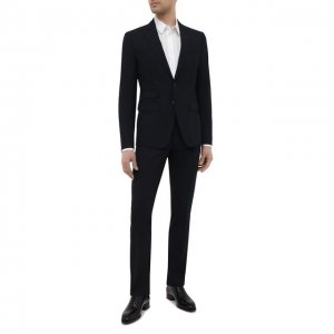 Шерстяной костюм Dsquared2. Цвет: синий