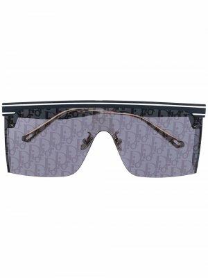 Солнцезащитные очки-авиаторы Dior Club Eyewear. Цвет: синий